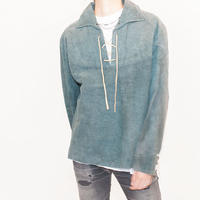 Pullover Suede Shirt