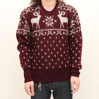 Vintage Jaquard Knit Sweter