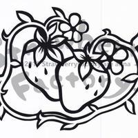プレミアムシリーズ【挿絵のいちご(横型)】15cm版