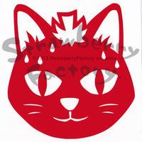ワンポイントシリーズ【いちごネコ】12cm版