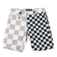 "ROLLING CRADLE ショーツ ""CHECKER SHORTS"" / Black"