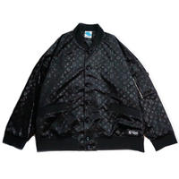 "【SLEEPING TABLET】ブルゾン ""PATIENT [ VELOUR BLOUSON ]"" / BLACK"