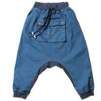 "【ANIMALIA】サルエルパンツ ""APACHE-Stretch Denim Sarrouel Pants""/ L.DENIM"