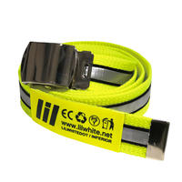 "【LILWHITE(dot)】ベルト ""REFLECTOR LONG BELT"" / LIME"