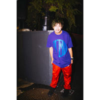 "【PLMP】Tシャツ ""PLMP MARK 3"" / PURPLE"