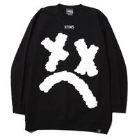 SMILE -Crew Sweat- / BLACK