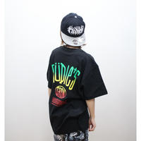 "【RUDIE'S】 Tシャツ ""DRAWING GRADATION-T"" / BLACK"