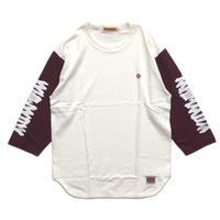 EASTERN LOGO-3/4 Sleeve / BURGUNDY
