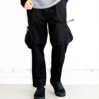 "【VIRGO】カーゴパンツ""FAT PETAURISTA PANTS"" / BLACK"
