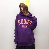 "【RUDIE'S】プルオーバーパーカ ""BRIGHT PHAT HOOD SWEAT"" / PURPLE"