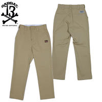 BLOOD PAINT ANKLE CHINO / BEIGE