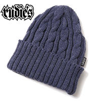 WASTE CABLE KNITCAP / INDIGO
