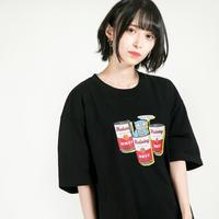 "HEDWiNG Tシャツ ""Hyokkori"" Owl T-shirt / BLACK"