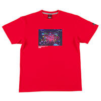 "ROLLING CRADLE Tシャツ ""RCx東京幻想 -KAMINARIMON GENSO-"" / Red"