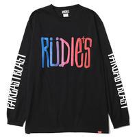 """【RUDIE'S】ロンT """"DRAWING LS-T"""" / BLACK"""
