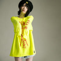 "【HEDWiNG】ロンT  ""Chinese Zombie Longsleeve T-shirts"" / LIME"