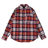 "【ROLLING CRADLE】チェックシャツ ""CHECK SHIRT"" / ORANGE"