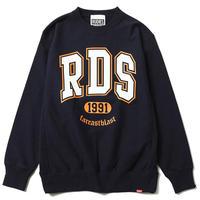 """【RUDIE'S】クルーネックスウェット """"RDS CREW SWEAT"""" / NAVY"""