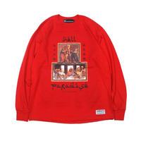 "【SABBAT13】ロンT ""PARADISE L/S T"" / RED"