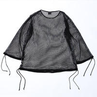 MIST -Wide Mesh Pullover- / BLACK