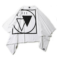 """【SILLENT】""""CRYPTIC -Extra Wide Poncho-"""" / WHITE"""