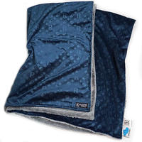 【SLEEPING TABLET】ブランケット PATIENT [ VELOUR BLANKET ] / NAVY