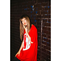 """【PLMP】Tシャツ """"PLMP MARK 3"""" / RED"""