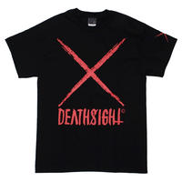 deathsight logo tees STREET ARTS LIMITED / BLACK-RED