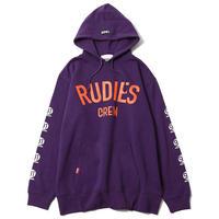 "【RUDIE'S】プルオーバーパーカ ""BRIGHT PHAT HOOD SWEAT"" / PURPLE"