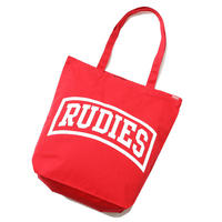 "【RUDIE'S】トートバック ""EMBER TOTEBAG"" / RED"