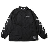 "【SILLENT FROM ME】コーチジャケット ""METAPHOR -Coach Jacket-"" / BLACK"