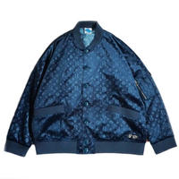 "【SLEEPING TABLET】ブルゾン ""PATIENT [ VELOUR BLOUSON ]"" / NAVY"