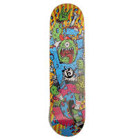 RC SKATEBOARD DECK-DRINKIN'em ALL SKATE-