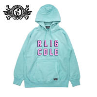 RLIG CDLE PIGMENT HOODIE / TURQUOISE
