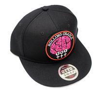 BRAIN PATCH CAP / Black