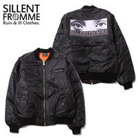 GAZE -Big Flight Jacket-