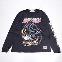 "ANIMALIA ロンT ""EAGLE L/S"" / BLACK"