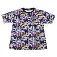 """ROLLING CRADLE ビックTシャツ """"NEO TOKYO BIG TEE"""" / BLACK"""
