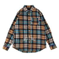 "【ROLLING CRADLE】チェックシャツ ""CHECK SHIRT"" / YELLOW"