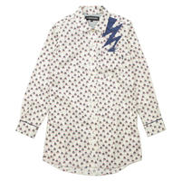 TRIBE TENT LONG SHIRT / WHITE