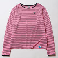 NOTICE [ LOOSE BORDER CUTSEW ] / PINK