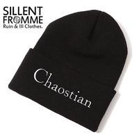 CHAOSTIAN - Beanie- / BLACK