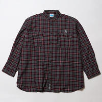 LADS [ WIDE NEL SHIRTS ] / GRAY-RED