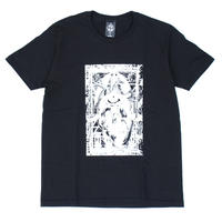 MULTIPLE S/S Tee / BLACK