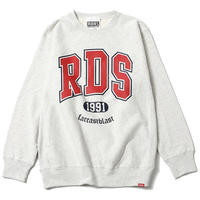 "【RUDIE'S】クルーネックスウェット ""RDS CREW SWEAT"" / OATMEAL"
