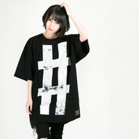 "HEDWiNG Tシャツ Big Hashtag ""#"" T-shirt / BLACK"