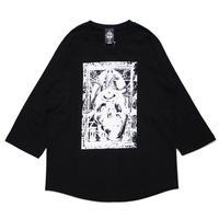 MULTIPLE 7/s tee / BLACK