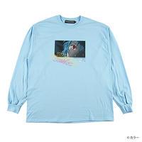 "ROLLING CRADLE Tシャツ ""RCxEVANGELION 綾波レイ"" / Light-blue"