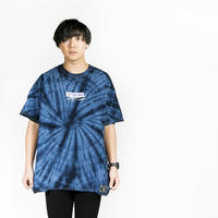 "【HEDWiNG】""Pierre"" Tie-dye T-shirt"" / NAVY"