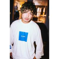 """【PLMP】ロンT """"PLMP L/S BOX"""" / WHITE"""